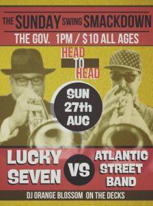Sunday Smackdown - Lucky Seven vs Atlantic Street Band